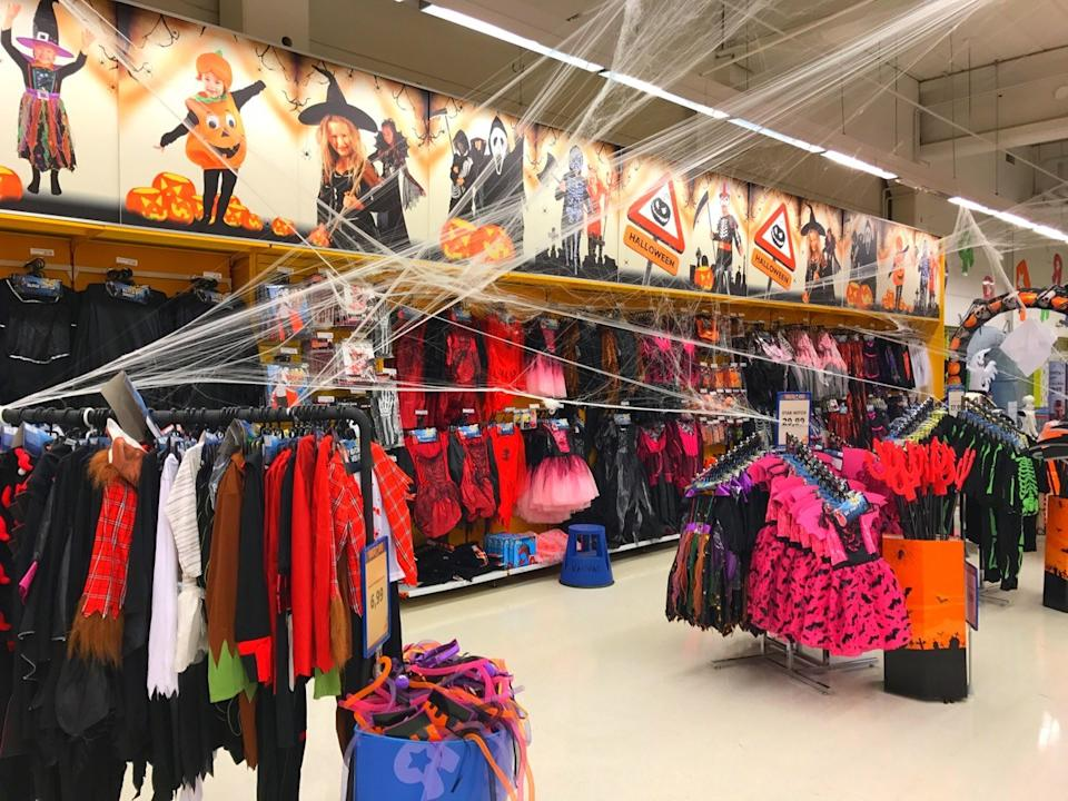 Party City Halloween store