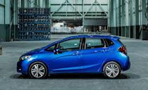 """<p>Introduced in the U.S. for 2007, <a href=""""https://www.caranddriver.com/honda/fit"""" rel=""""nofollow noopener"""" target=""""_blank"""" data-ylk=""""slk:Honda's Fit"""" class=""""link rapid-noclick-resp"""">Honda's Fit</a> will <a href=""""https://www.caranddriver.com/news/a33337398/honda-fit-discontinued-for-the-us-despite-new-global-model/"""" rel=""""nofollow noopener"""" target=""""_blank"""" data-ylk=""""slk:be discontinued after the 2020"""" class=""""link rapid-noclick-resp"""">be discontinued after the 2020</a> model year. Perennially one of the more entertaining cars in the sub-compact class, the small five-door hatchback also offers the most people and cargo space thanks to its excellent packaging and """"magic"""" rear-seat, which flips up as well as folds flat.</p><p>This year, the front-wheel drive Honda Fit is available in four trim levels: LX, Sport, EX, and EX-L, with prices starting right around $17,000. A factory-installed navigation system is no longer offered, but three of the four trim levels have standard Apple CarPlay and Android Auto integration. Under the hood is a lively 130-hp 1.5-liter four-cylinder engine, paired with either a six-speed manual transmission or a continuously variable (CVT) automatic (which drops the horsepower to 128). With the CVT fuel economy estimates are 33 mpg city and 40 mpg on the highway, which are among the highest in its class.</p>"""