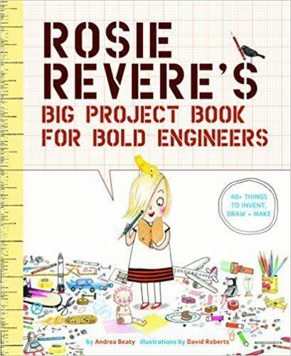 This <span>activity book</span> will not only inspire your future engineer but carries a strong message of girl power.