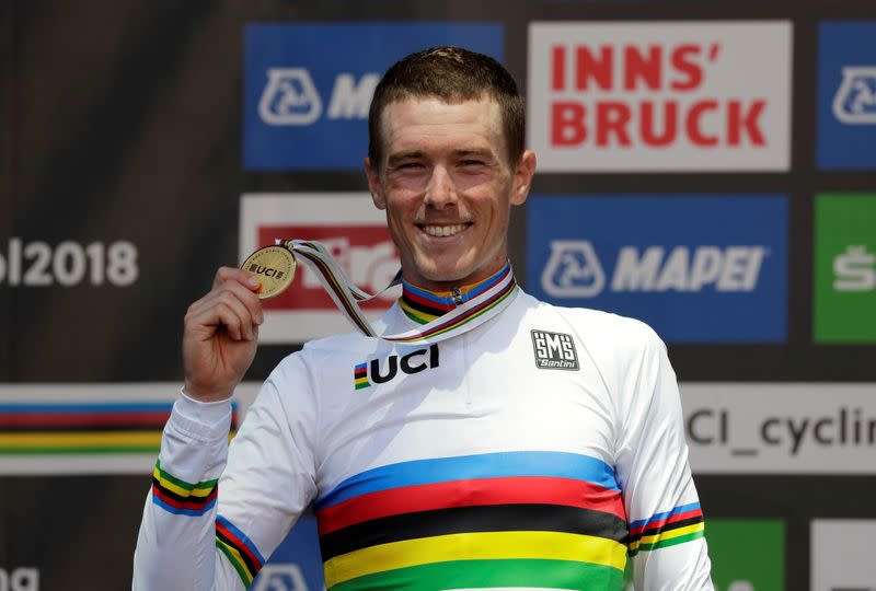 Australian world time trial champion Dennis joins Ineos