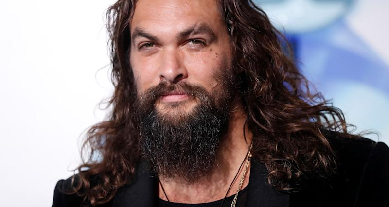 "Cast member Jason Momoa poses at the premiere for ""Aquaman"" in Los Angeles, California, U.S., December 12, 2018. REUTERS/Mario Anzuoni"