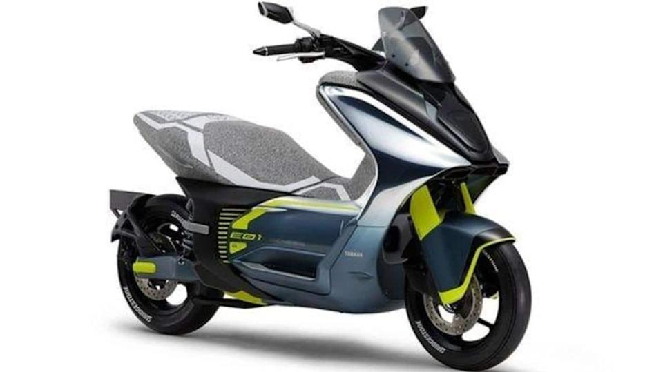 Prior to debut, Yamaha E01 e-scooter revealed in patent images