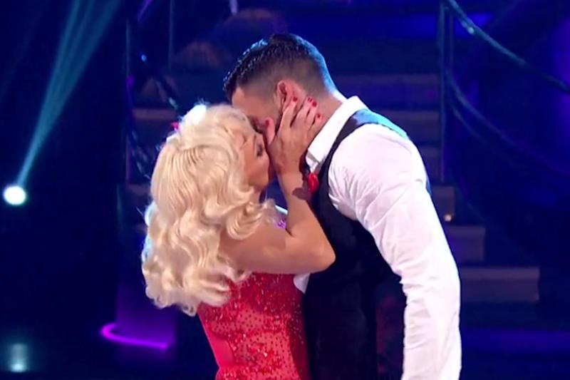 Kiss me, quick: Debbie McGee and Giovanni Pernice: BBC