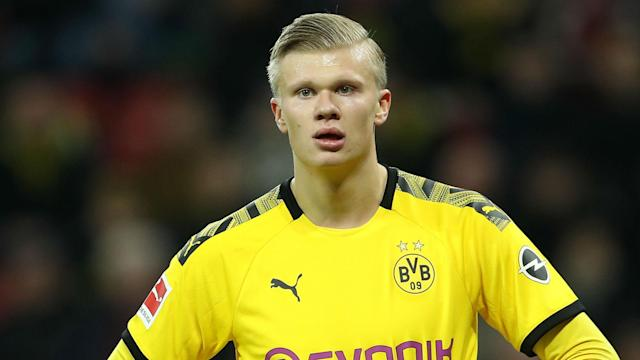 "Citing the example of PSG star Kylian Mbappe, Erling Haaland has said: ""You can always reach a higher level in football."""