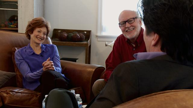 From left, Fran Brill, Frank Oz, and Bill Baretta in <em>Muppet Guys Talking.</em> (Photo: Vibrant Mud LLC)
