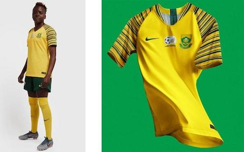 South Africa home kit, 2019 Women's World Cup - Credit: NIKE