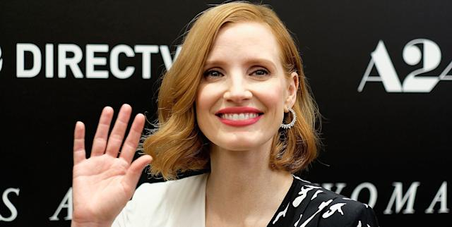 Jessica Chastain is under fire for her choice of director to helm <em>Eve</em>. (Photo: Getty images)