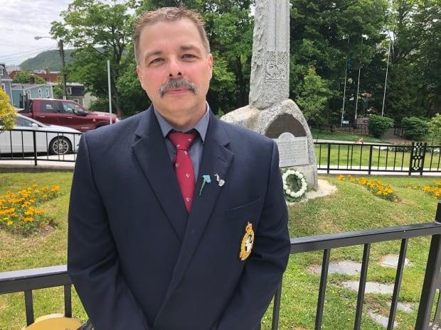 Frank Gogos is chair of the Royal Newfoundland Regiment Museum. (Jeremy Eaton/CBC - image credit)