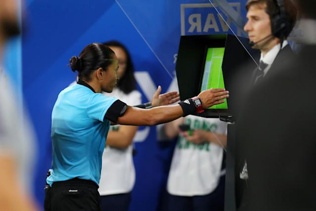 VAR featured prominently during the Women's World Cup. (Credit: Getty Images)