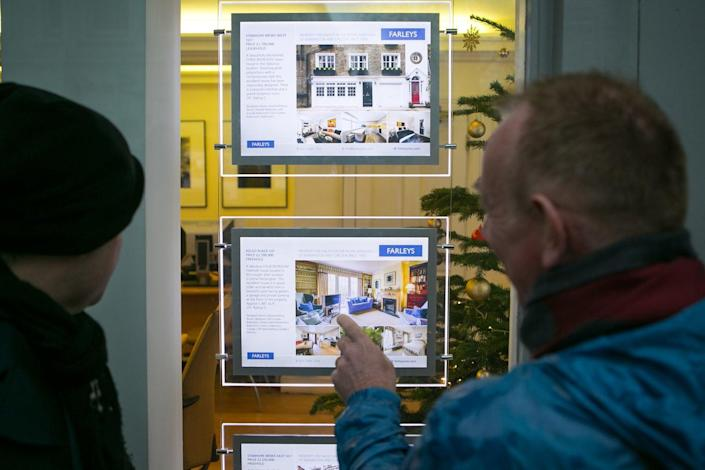<p>A stamp duty holiday has boosted the housing market</p> (Daniel Leal-Olivas/PA)