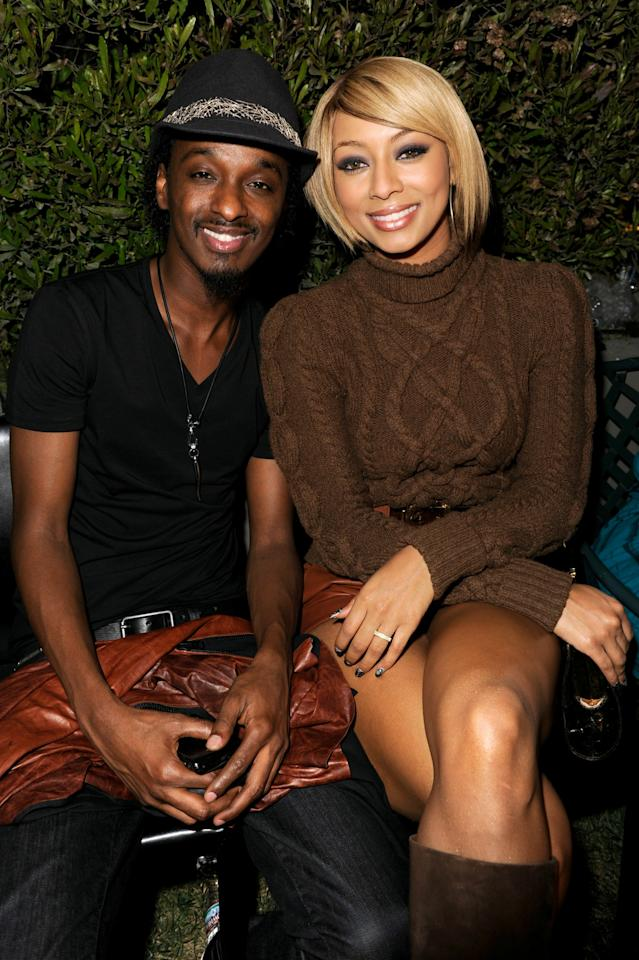 "LOS ANGELES, CA - NOVEMBER 04:  Musician K'naan and singer Keri Hilson attend ""Songs of Hope VI"" benefiting City of Hope at Esquire House LA on November 4, 2010 in Los Angeles, California.  (Photo by Michael Caulfield/Getty Images for Esquire House)"