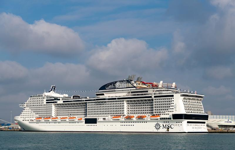 MSC Bellissima lives upto its name - MSC Rights