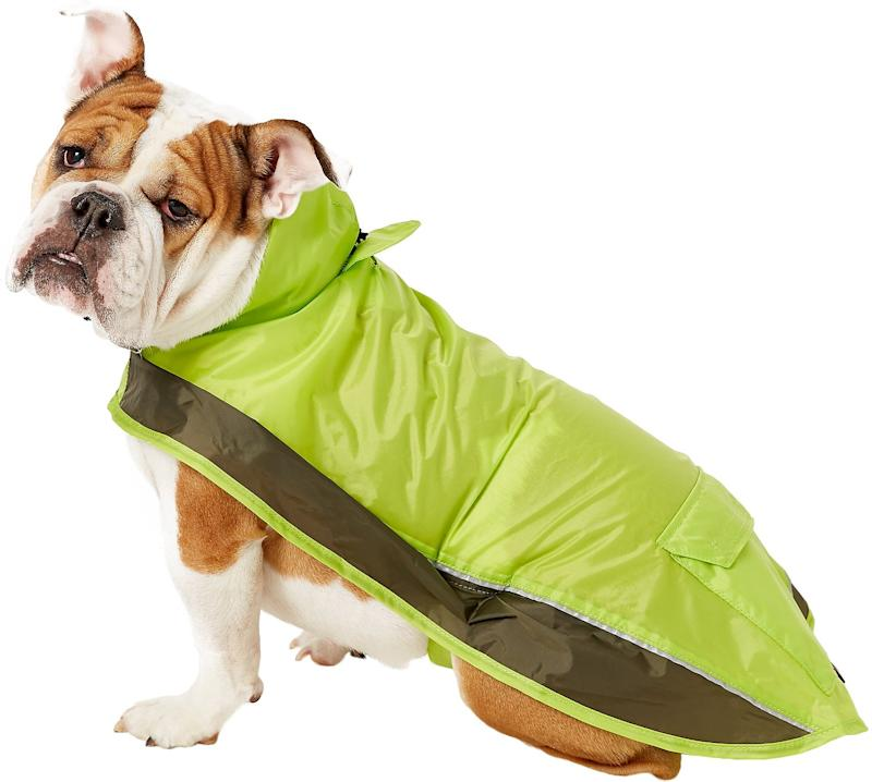 Ultra Paws Pooch Pocket Raincoat (Photo: Chewy)