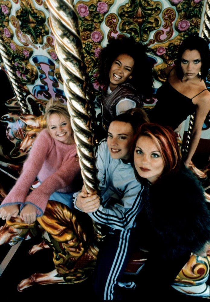 <strong>1996</strong> The Spice Girls