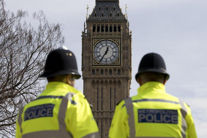 Trespass incident: Two teenage boys were arrested at the Palace of Westminster (file photo): AFP/Getty Images