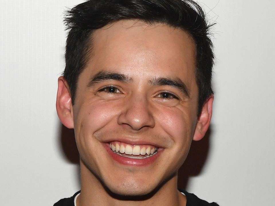 Archuleta in 2016 (Getty Images)