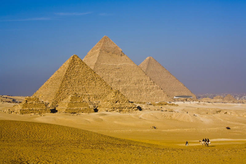 <strong>The Great Pyramid soars to a height of 479 feet</strong> (travelshooter via Getty Images)