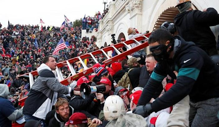 Feds Indict First Two Capitol Riot Defendants