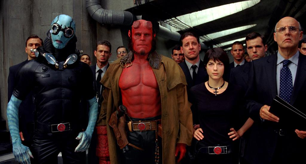 "8. HELLBOY  Total Domestic Gross: $135,610,461   <a href=""http://movies.yahoo.com/movie/1808404362/info"">Hellboy</a> (2004) - $59,623,958  <a href=""http://movies.yahoo.com/movie/1809826056/info"">Hellboy II: The Golden Army</a> (2008) - $75,986,503"