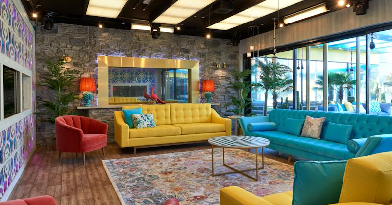 Is this the classiest designed Celebrity Big Brother house ever?