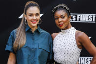MADRID, SPAIN-June 10: Jessica Alba and Gabrielle Union at the 'L.A.'s Finest' AXN TV Series photocall at the Villamagna Hotel in Madrid, Spain on the 10th of May of 2019. June10, 2019. Credit: Jimmy Olsen/Media Punch ***NO SPAIN*** /IPX
