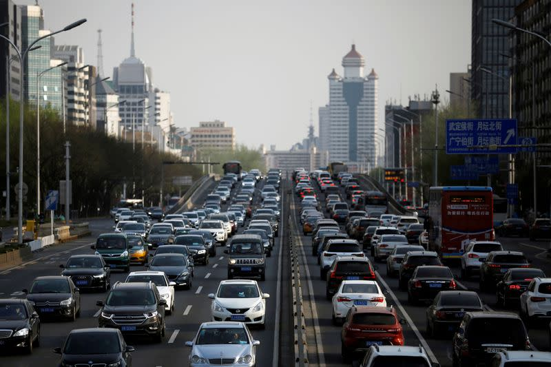 China car sales mark 1st rise in 22 months but virus to still slam 2020