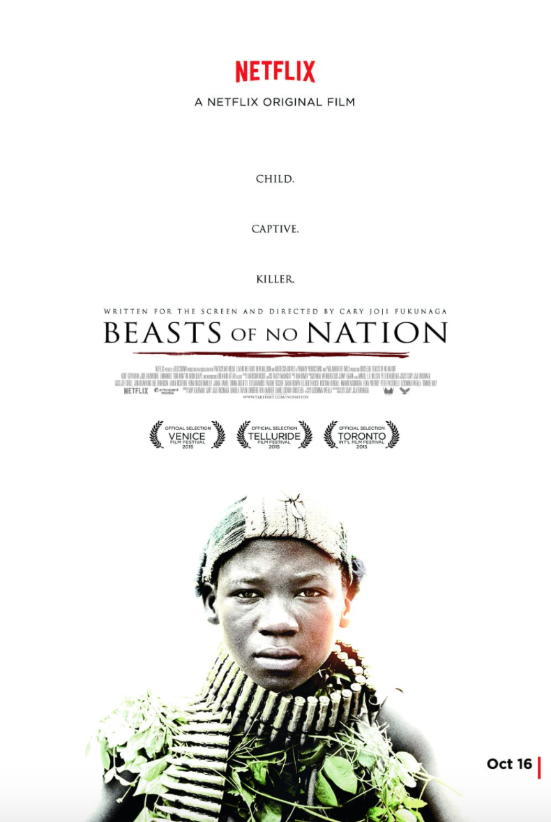 <p>The war at the heart of <em>Beasts of No Nation</em> is essentially endless. Cary Joji Fukunaga (<em>True Detective</em>, <em>Sin Nombre</em>), brings to the film the dream-like suspension found in so many of his works. The effect is a trauma that endures and a nightmare that never leaves. It's absolutely gutting. </p>