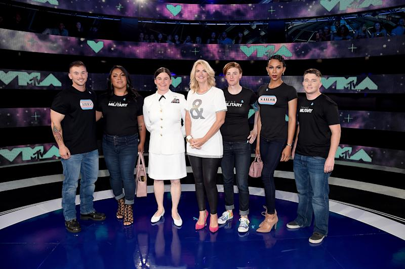 MTV Honours Transgender Military Members At 2017 VMAs