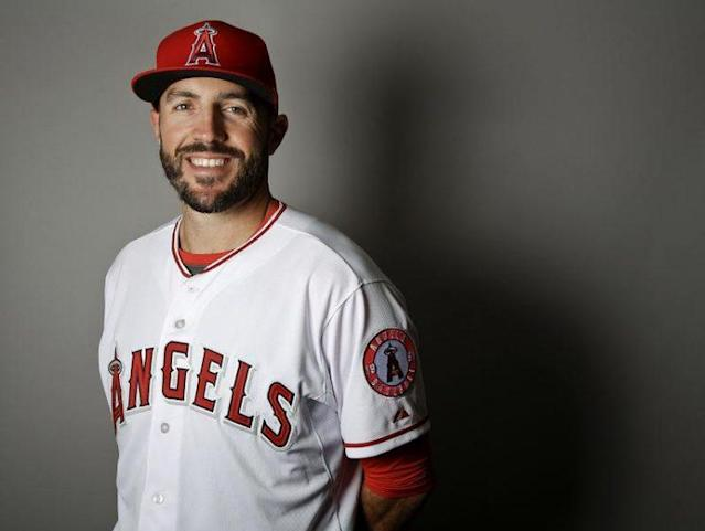 Blake Parker has earned his spot on the Angels opening day roster. (AP)