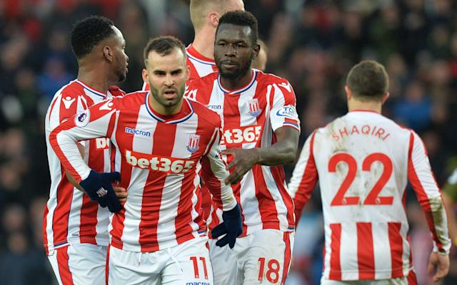 """Stoke are ready to cancel Jese Rodriguez's loan deal from Paris Saint-Germain, as the strugglers prepare for one of the most crucial games in their Premier League history. Jese's troubled spell at the bet365 Stadium is finally over after angering Stoke officials with his failure to attend training for the last two weeks. The former Real Madrid attacker was expected to report back a week last Wednesday, after being granted compassionate leave, but he is yet to show up and Stoke's patience has finally snapped. Stoke are now scrapping Jese's season-long loan early, as they prepare for the final four games of their relegation battle. It is expected that an agreement will be reached to end the deal in the next few days. Paul Lambert, the manager, and Stoke's board are determined to ensure full focus is on their safety mission and Jese's conduct has infuriated the club at a time when they are in deep trouble. Jese (right) is being sent back to Paris Saint-Germain Credit: AFP His self-imposed strike has come under sharper scrutiny this week by the dedication of captain Ryan Shawcross, who played against West Ham on Monday just days after the death of his father. Stoke face Burnley at home on Sunday with chairman Peter Coates making no attempt to downplay the significance of the game. Coates told Telegraph Sport: """"It's a massive game and undoubtedly one of the most important in the 10 years Stoke have been in the Premier League. """"We've never fought relegation before at this stage of the season so we all realise how hugely important it is. We've clearly had some great times in the Premier League and we desperately want to keep them going. """"If we can win against Burnley it keeps us right in the mix. We're all up for the fight."""" Jese, a Champions League winner with Real Madrid, will now play no further part in Stoke's relegation battle after a difficult spell in the Potteries. Signed by former Stoke manager Mark Hughes in August, his arrival was initially seen as a huge coup f"""