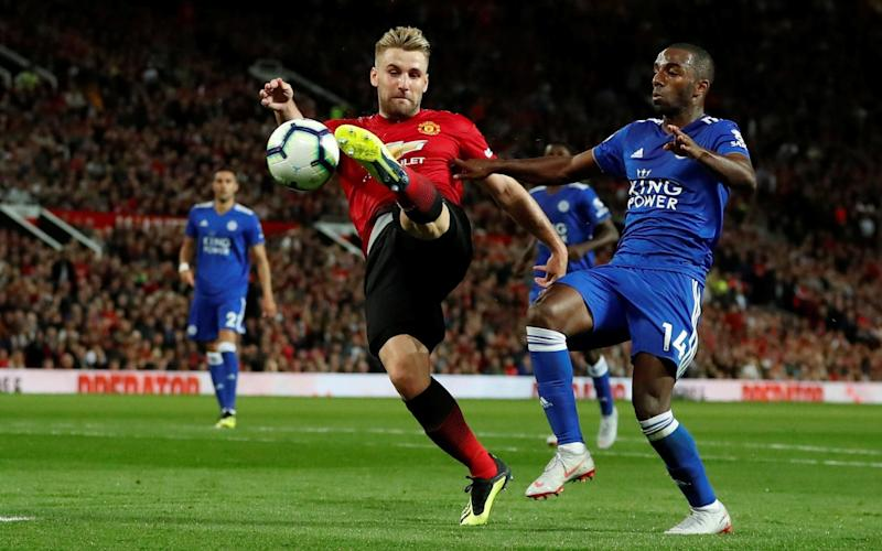 Luke Shaw scores in the second half to secure victory for Manchester United - Action Images via Reuters