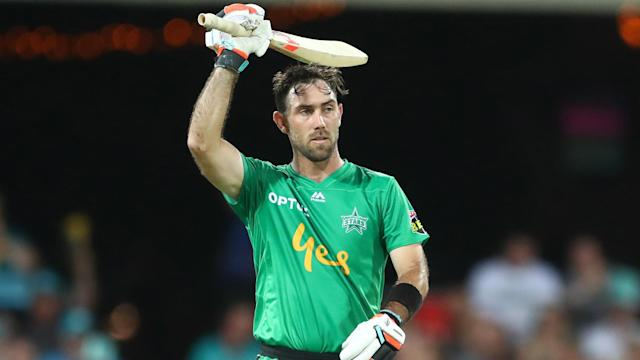 Melbourne Stars batsman Glenn Maxwell and the Brisbane Heat's Chris Lynn are donating to the bushfire appeal.