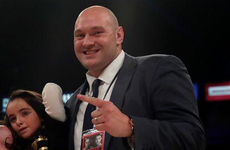 Ready to rumble: Tyson Fury's suspension set to be lifted