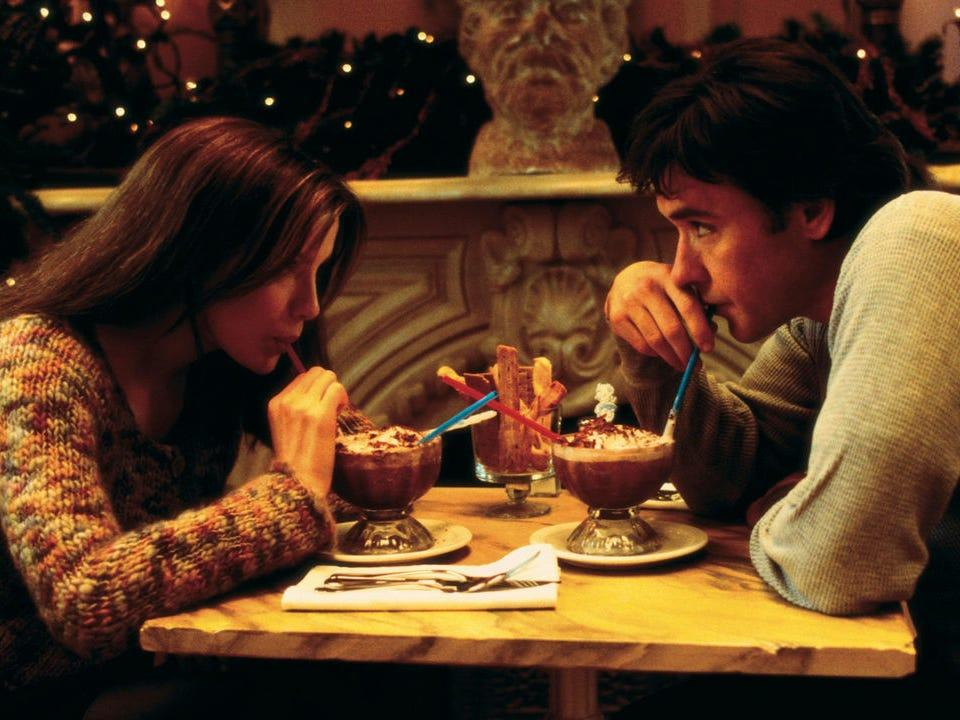 "Kate Beckinsale and John Cusack in ""Serendipity."""