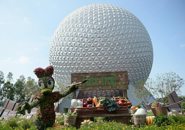 ORLANDO, FL - MAY 11: General view of Epcot International Flower And Garden Festival at Epcot Center at Walt Disney World on May 11, 2016 in Orlando, Florida. (Photo by Gustavo Caballero/Getty Images)