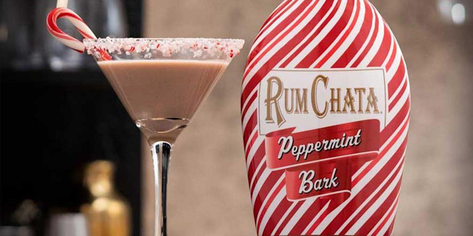 RumChata Just Released a Peppermint Bark Liqueur, So Get Ready to Make a Christmas Cocktail