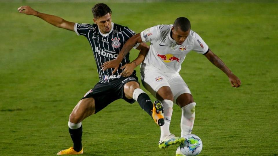 2020 Brasileirao Series A: Red Bull Bragantino v Corinthians Play Behind Closed Doors Amidst the | Miguel Schincariol/Getty Images