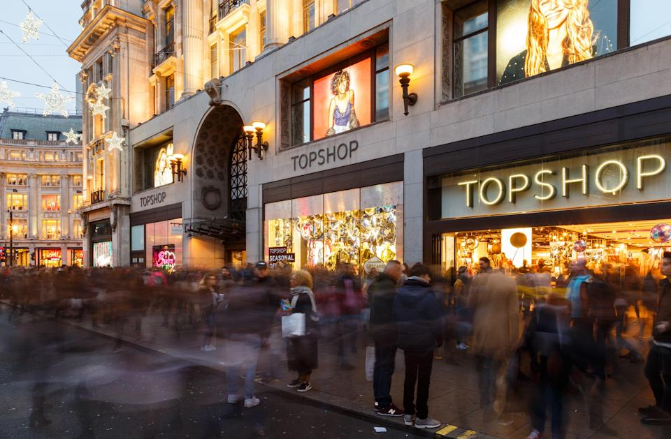 <p>The trip to Topshop was a suburban Saturday pilgrimage</p> (Getty)