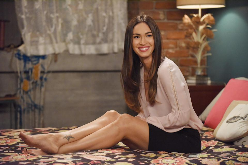 Reagan is first introduced after Jess leaves for jury duty in the sixth episode of Season 5. She's openly bi, definitely a girl boss, and absolutely wrong for Nick! (But you love her because, duh, it's Megan Fox.)