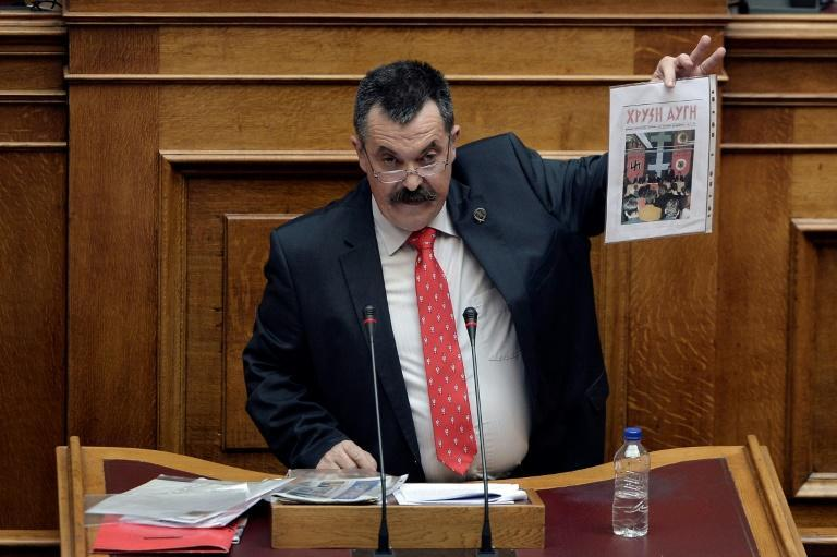 Pappas in court in 2014, when the group's criminal activities came to light in trial testimony