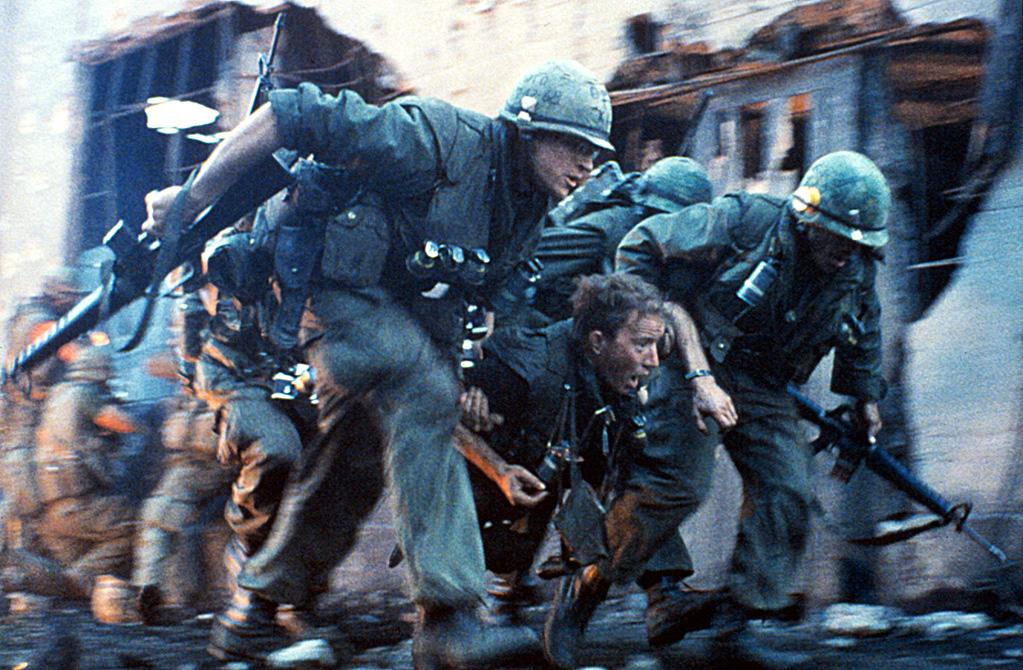 """<a href=""""http://movies.yahoo.com/movie/1800068492/info"""">FULL METAL JACKET (1987)</a>   """"The sniper scene in the last twenty minutes of Stanley Kubrick's war epic is like a cinematic heart-attack. A perfectly calibrated drumbeat of dread and doom that puts you right in the combat zone."""""""
