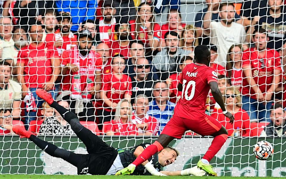 Sadio Mane gave Liverpool the lead against Crystal Palace - Getty Images