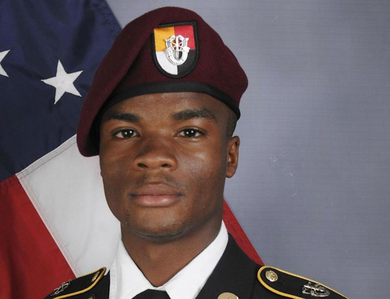 Sgt Johnson was among four US troops killed in Niger (AP)