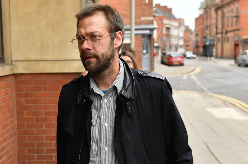 Kasabian's Tom Meighan (Photo: ASSOCIATED PRESS)