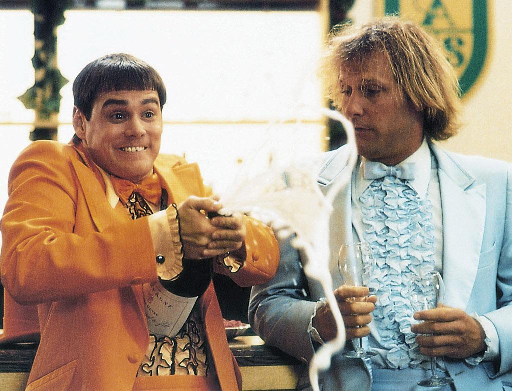 "<a href=""http://movies.yahoo.com/movie/dumb-and-dumber/"">DUMB & DUMBER</a> (1994) <br>Directed by: Peter Farrelly and Bobby Farrelly Starring: Jim Carrey and Jeff Daniels<br>"