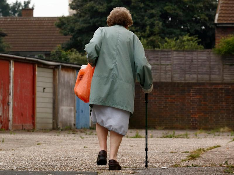 Widows and widowers are significantly more pessimistic about their survival chances than others at age 60: AFP/Getty