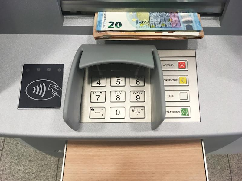 Keyboard of an ATM