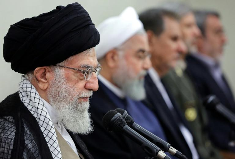 Iran Ayatollah Ali Khamenei: the US Treasury accused Iran of creating a complex web of cut-out companies to dodge US sanctiions and ship Iranian oil to Syria, which in turn sent funds to Hezbollah and Hamas