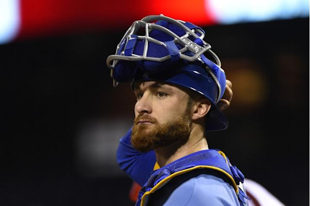 "Catcher <a class=""link rapid-noclick-resp"" href=""/mlb/players/8609/"" data-ylk=""slk:Jonathan Lucroy"">Jonathan Lucroy</a> is likely headed to Cleveland. (AP)"