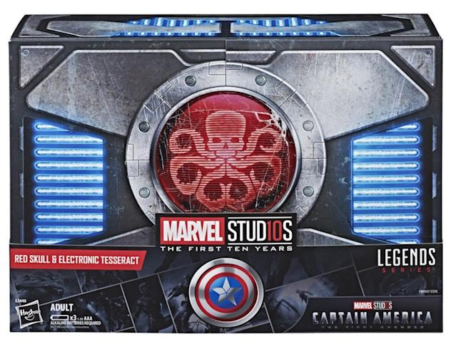 Red Skull comes in a Hydra-themed box. (Photo: Hasbro)